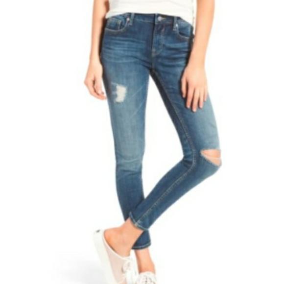 Vigoss Thompson Tomboy distressed skinny jeans